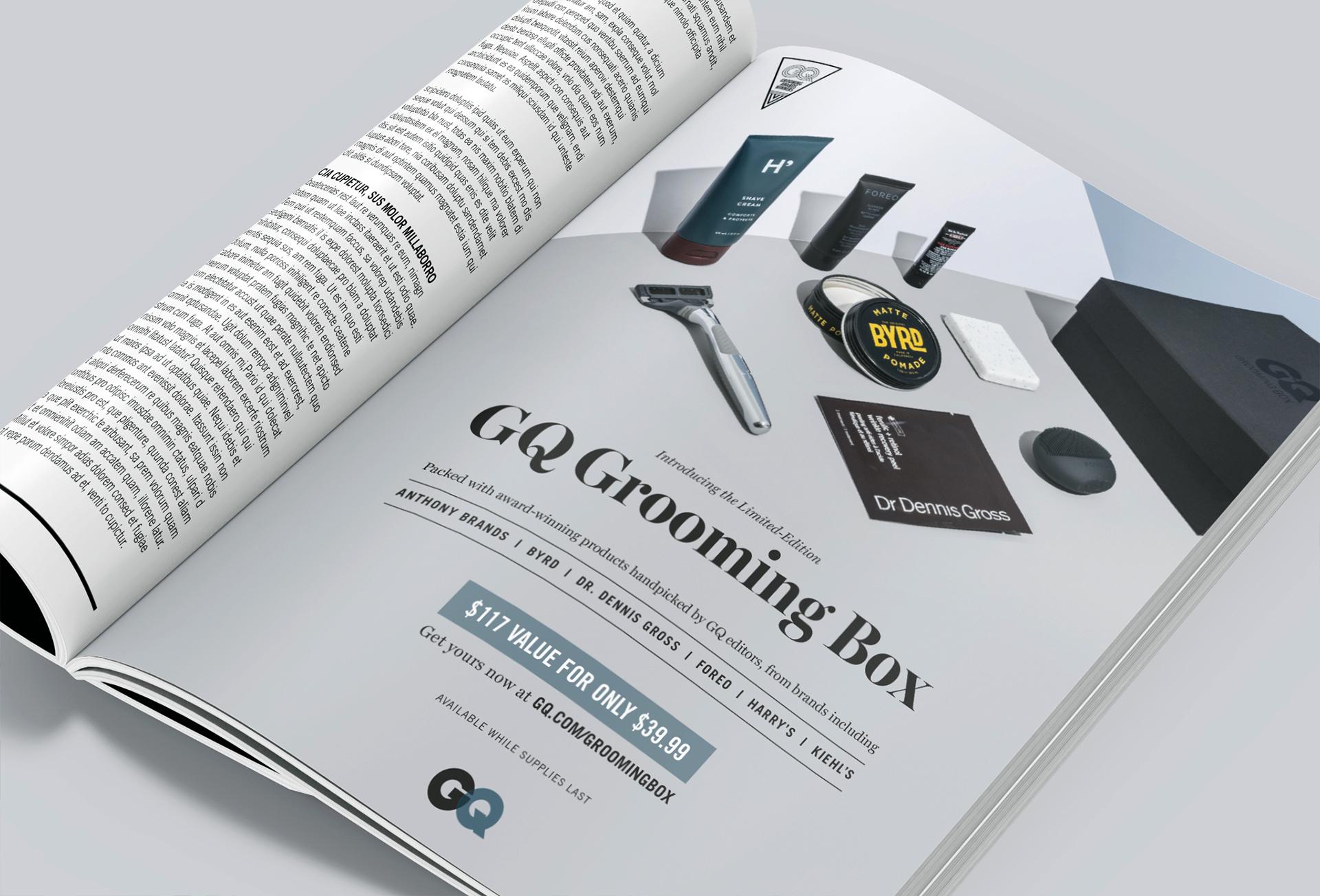 GQ Magazine 1