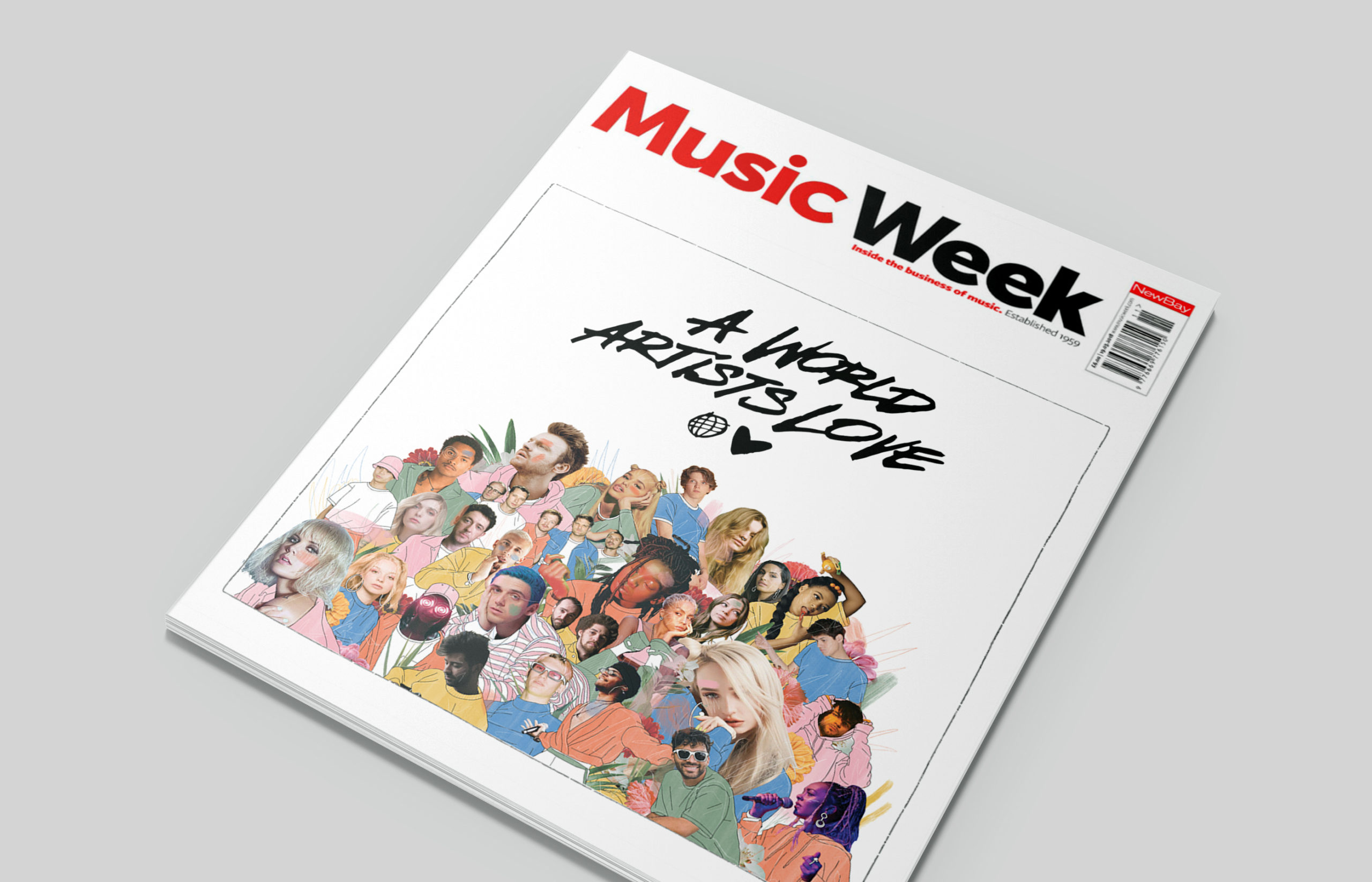music week cover