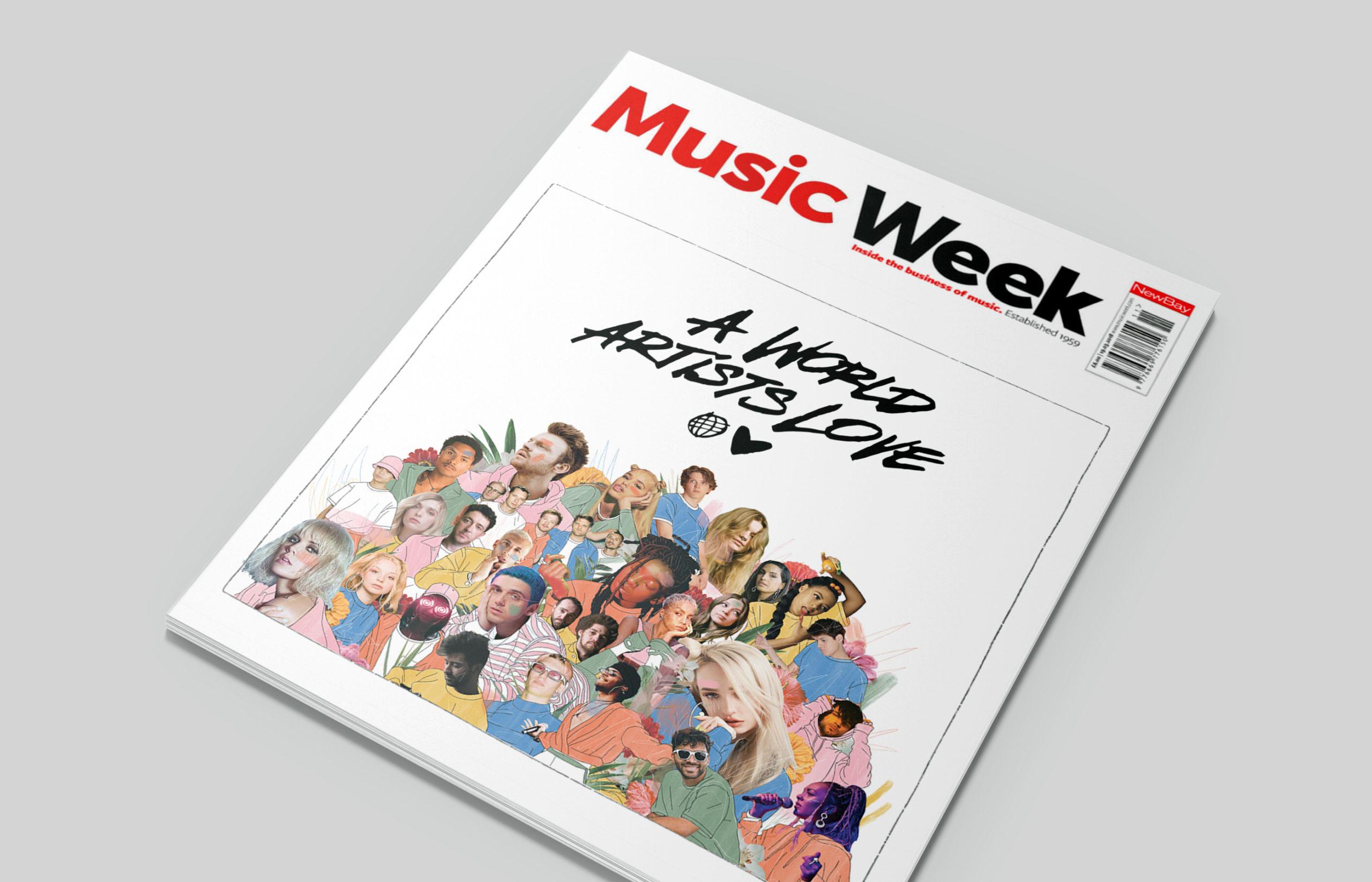 music week cover