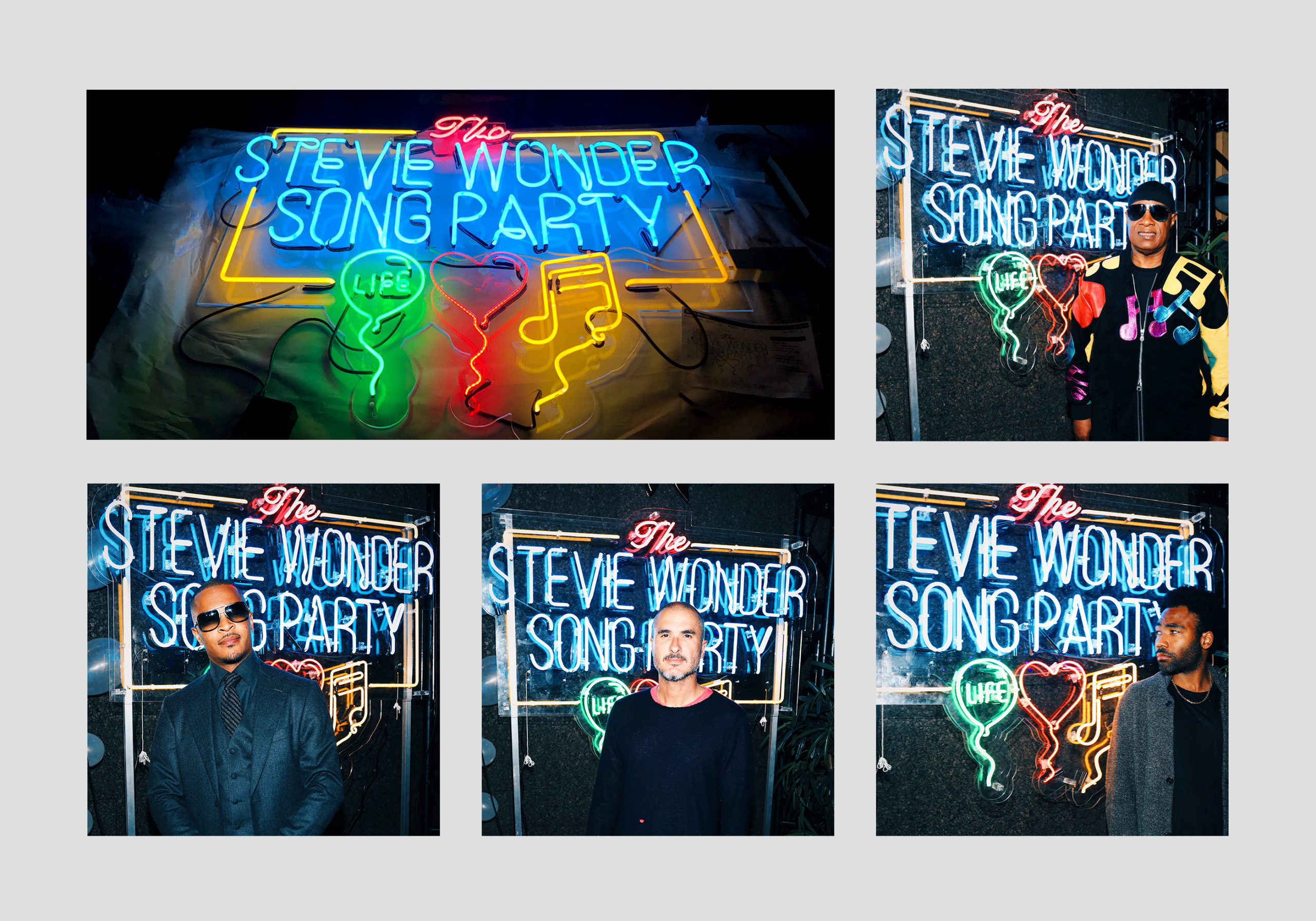 The Stevie Wonder Song Party
