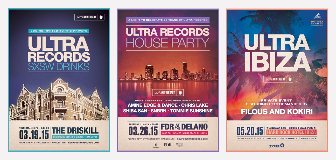 Ultra Party Flyers